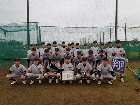 立川シニア親睦野球大会 決勝戦