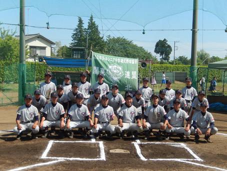 H29 第9回立川シニア親睦野球大会 横北Aチームベスト4