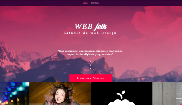 Agência website templates – Estúdio de Web Design
