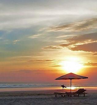 Seminyak Beach sunset