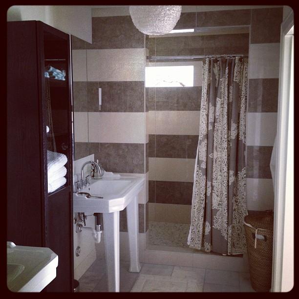 I heart my bathroom #lindseyhannadesign