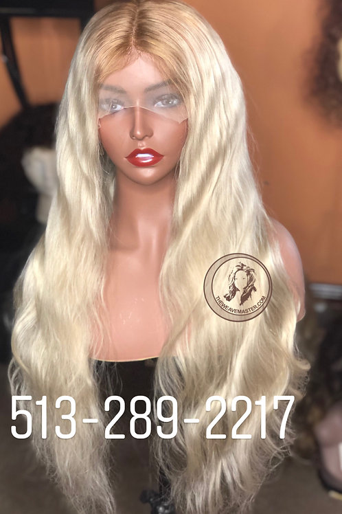 26 Inch 613 Blonde Full Lace