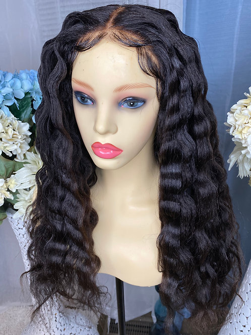 24in Kinky Straight Lacefront Unit