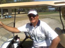 Barney on Golf Course