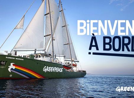 Visitez le navire historique de Greenpeace ! 🌈Le Rainbow Warrior III fera escale à Bordeaux