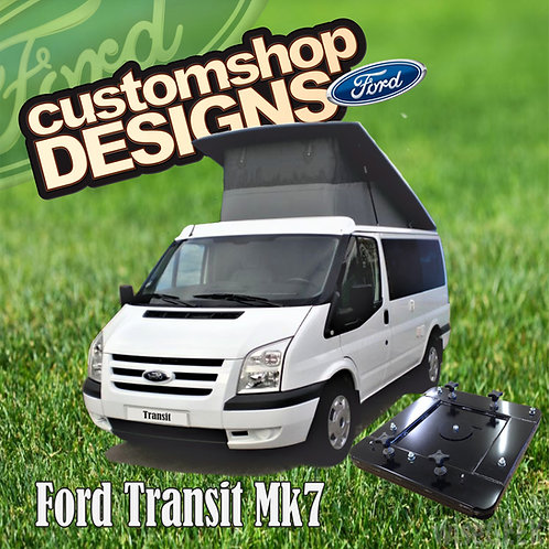 Ford Transit Mk7 (2001 - 2013) Double Seat Swivel Base (RHD UK Model)
