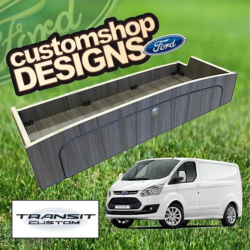 Ford Transit Custom (2013 - Onward) SWB / LWB 3/4 Width Over Bed Locker