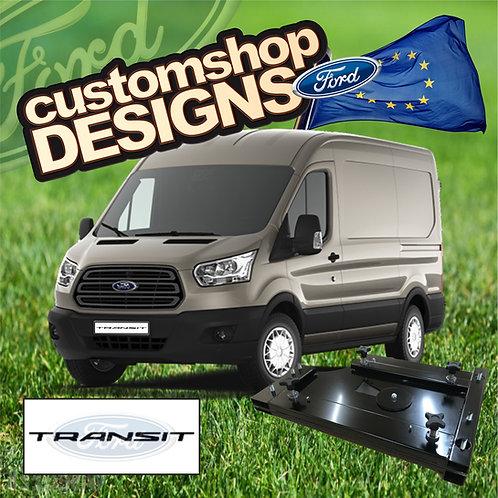 Ford Transit (2013 - Onward) Double Seat Swivel Base (LHD European Model)