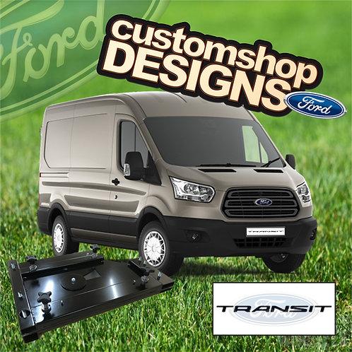 Ford Transit (2013 - Onward) Double Seat Swivel Base (RHD UK Model)
