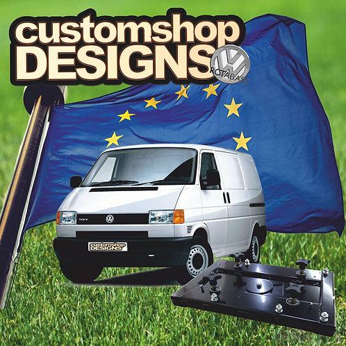 VW T4 Transporter Double Seat Swivel Base LHD