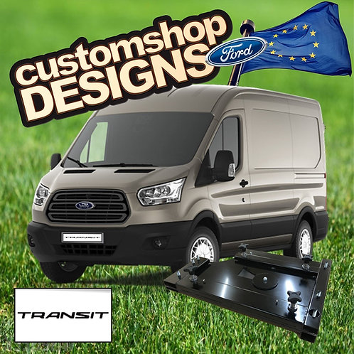 Ford Transit 2013 Onward Camper Van Double Seat Swivel Base (LHD Europe Model)