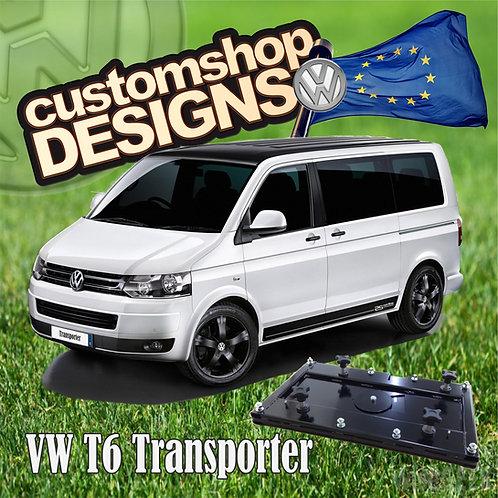 VW T6 Transporter (2015 - Onward) Double Seat Swivel Base (LHD European Model)