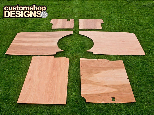 VW T4 Transporter LWB Interior Panels 3.6mm Ply