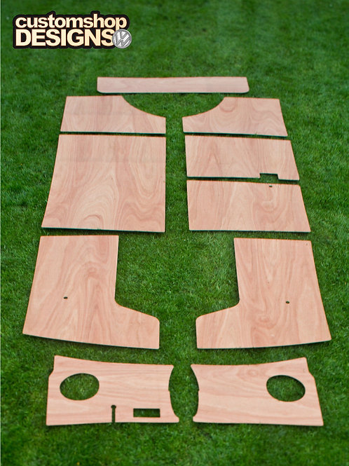 VW Splitscreen Interior 3.6mm Ply Panels Trim Kit