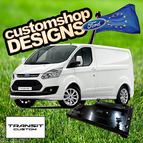 Ford Transit Custom 2013 Onward Camper Double Seat Swivel Base(LHD Europe Model)