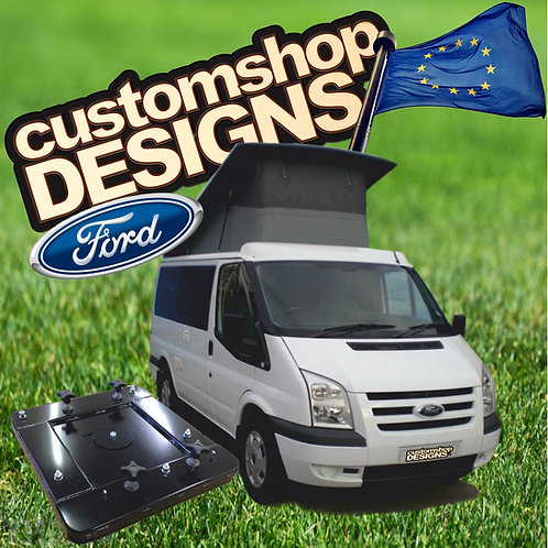 Ford Transit Camper Double Seat Swivel Base LHD