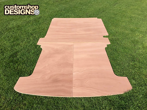 VW T6 Transporter (2015 - Onward) LWB 9mm Floor Ply Lining Kit