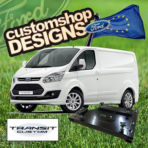 Ford Transit Custom (2013 - Onward) Double Seat Swivel Base (LHD European Model)