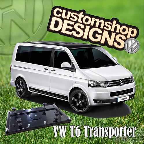 VW T6 Transporter (2015 - Onward) Double Seat Swivel Base (RHD UK Model)
