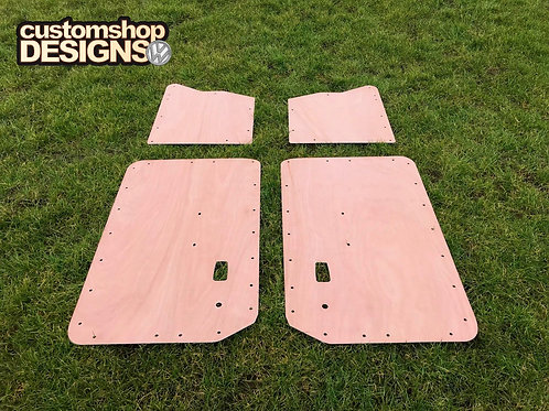 VW Classic Type 3 Fastback Car 1961 - 1973 Door Cards 3.6mm Ply Lining Kit