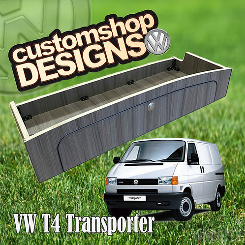 VW T4 Transporter (1990 - 2003) SWB / LWB Full Width (1100mm) Over Bed Locker