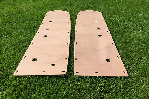 Ford Mustang 1964 - 1973 Car Interior Door Panels 3.6mm Ply Lining Trim Kit