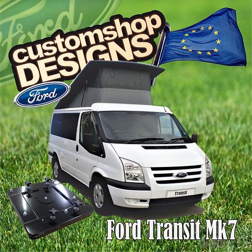 Ford Transit Mk7 (2001 - 2013) Double Seat Swivel Base (LHD European Model)