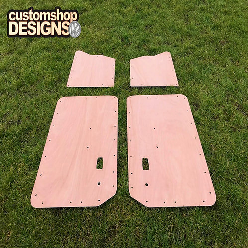 VW Classic Type 3 Fastback (1961 - 1973) Door Cards 3.6mm Ply Lining Trim Kit