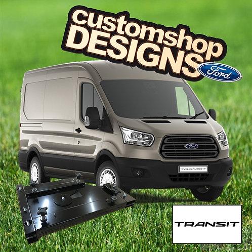 Ford Transit 2013 onward Camper Van Double Seat Swivel Base (RHD UK Model)