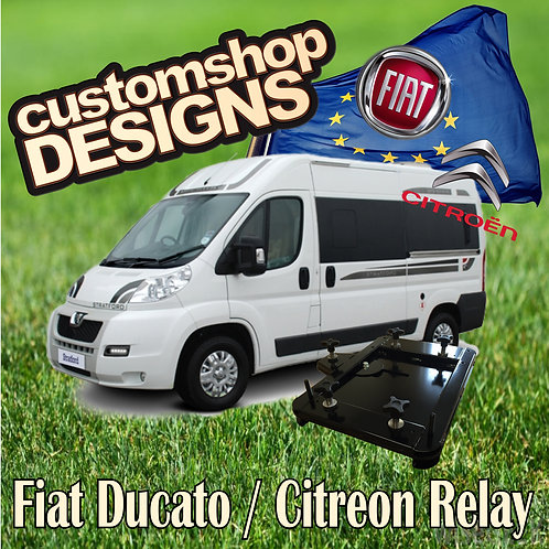 Ducato, Relay, Boxer Double Seat Swivel (LHD Euro)