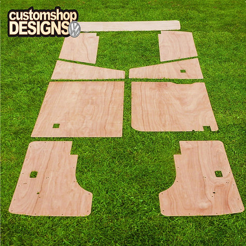 VW T25 Transporter (1979 - 1992) Camper Van Interior 3.6mm Ply Trim Kit