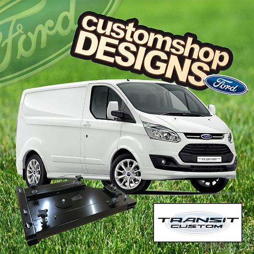 Ford Transit Custom (2013 - Onward) Double Seat Swivel Base (RHD UK Model)