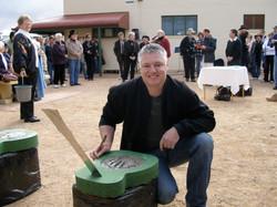 Anthony Hands of Fame SA.JPG