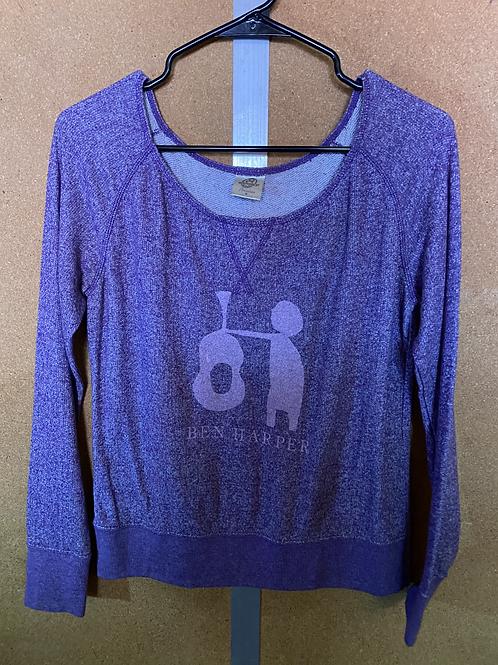 "Purple ""Ben Harper"" Shirt"