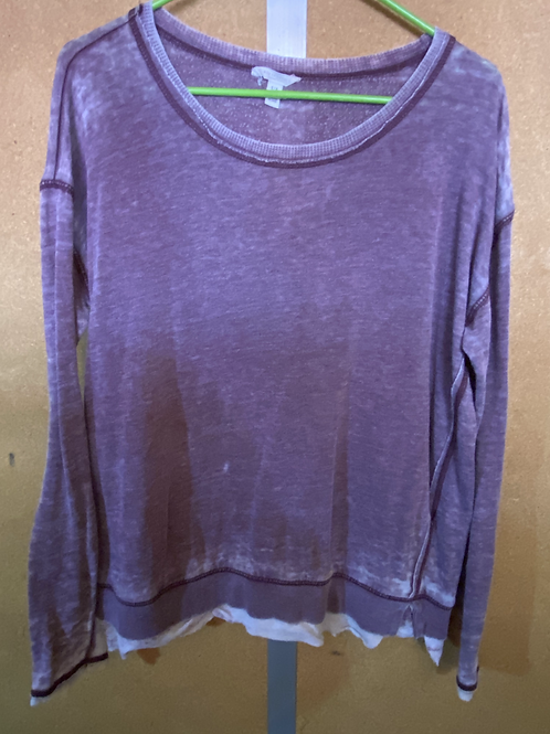 Purple Grunge Sweater