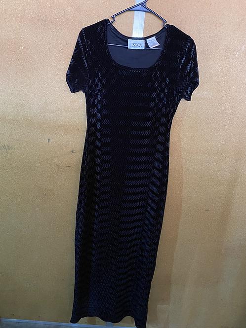 Black Shimmery Dress