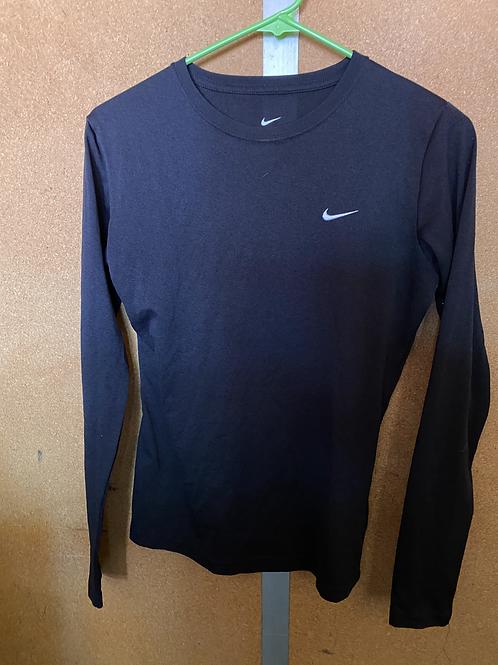 Black Long Sleeve Dri-Fit Shirt