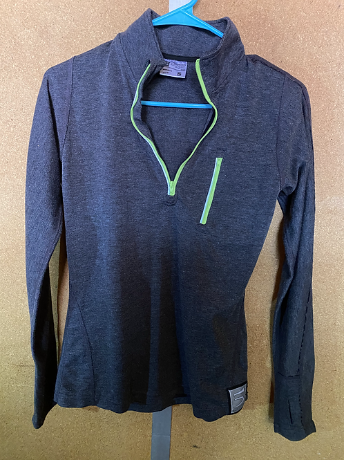Grey Longsleeve Athletic Shirt