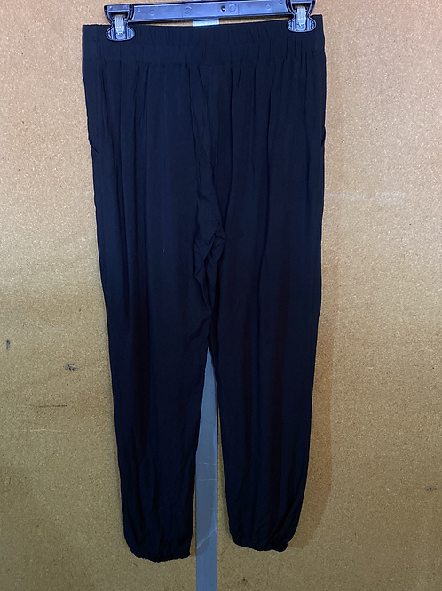 Black Relaxed Fit Lounge Pant