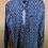 Thumbnail: Black Faded Denim Patterned Shirt