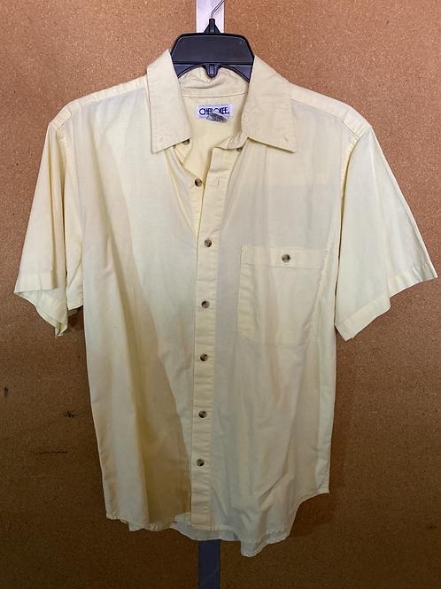 Soft Yellow Button Up Shirt