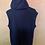 Thumbnail: Black-Blue Hoodie Vest
