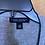 Thumbnail: Light grey flowered & ruffled cardigan