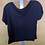 Thumbnail: Wutever Black Crop T Shirt