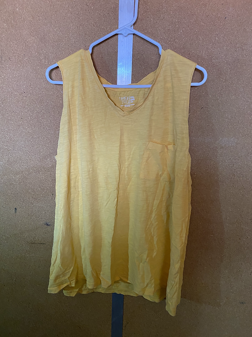 Yellow Tank With Pocket
