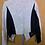 Thumbnail: Light grey and black blazer