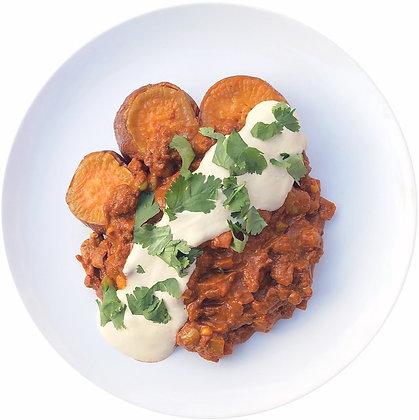 Mexican beans & hummus