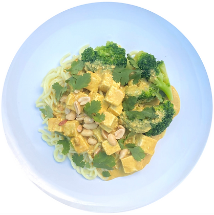 Satay Tofu Noodles