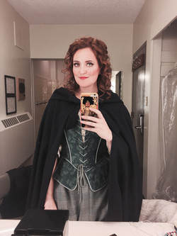 Micaëla Dressing Room Selfie