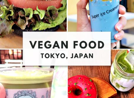 VEGAN FOOD IN TOKYO, JAPAN